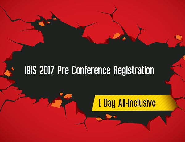 IBIS 2017 Pre Conference