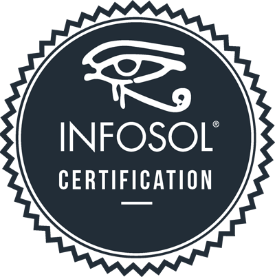 Infosol Certification Badge
