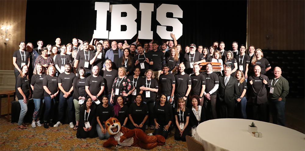 IBIS 2020 BusinessObjects Conference Group Photo