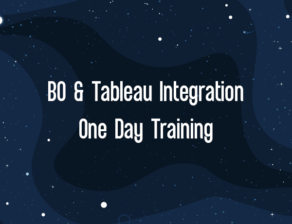BO and Tableau Integration