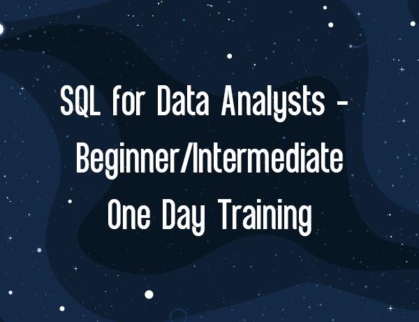 SQL for Data Analysts: Beginner/Intermediate