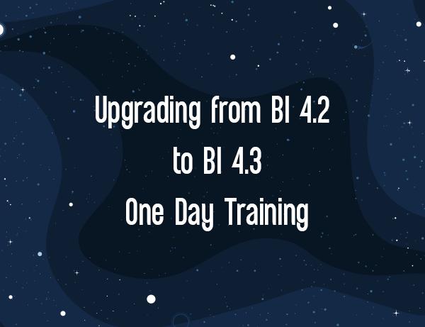 Upgrading from BI 4.2 to BI 4.3