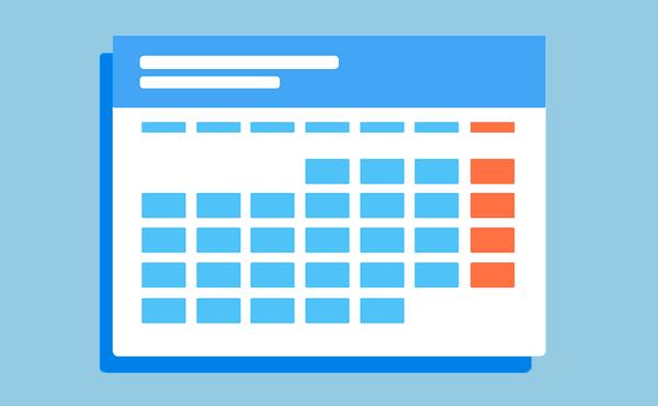 Virtual IBIS Calendar Graphic